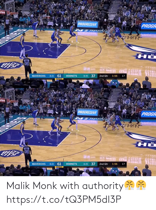 monk: Malik Monk with authority😤😤 https://t.co/tQ3PM5dI3P