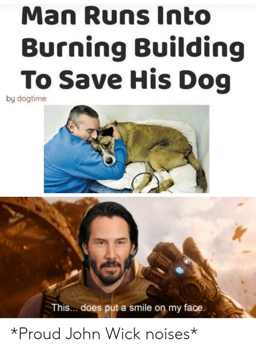 Man Runs Into Burning Building to Save His Dog by Dogtime