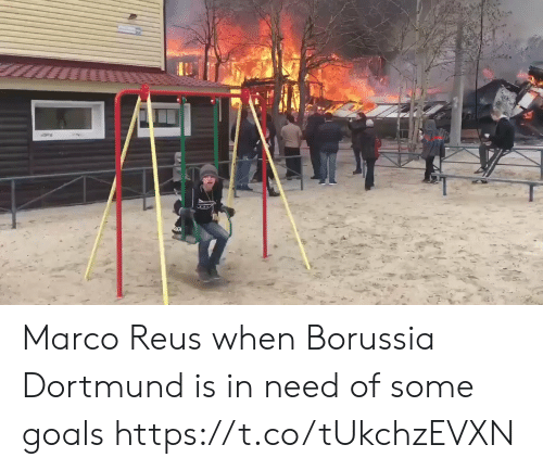 In Need: Marco Reus when Borussia Dortmund is in need of some goals  https://t.co/tUkchzEVXN