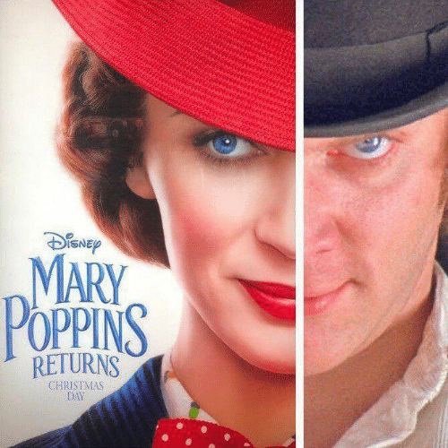 Christmas, Mary Poppins, and Day: MARY  POPPINS  daNSICE  RETURNS  CHRISTMAS  DAY
