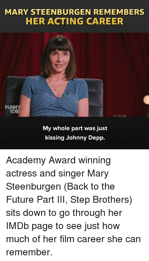 Back To The Future Dank And Funny Mary Steenburgen Remembers Her Acting Career