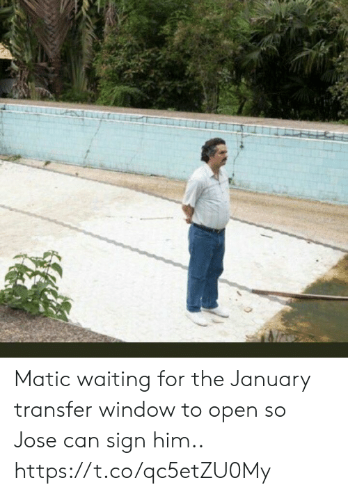 Jose: Matic waiting for the January transfer window to open so Jose can sign him.. https://t.co/qc5etZU0My