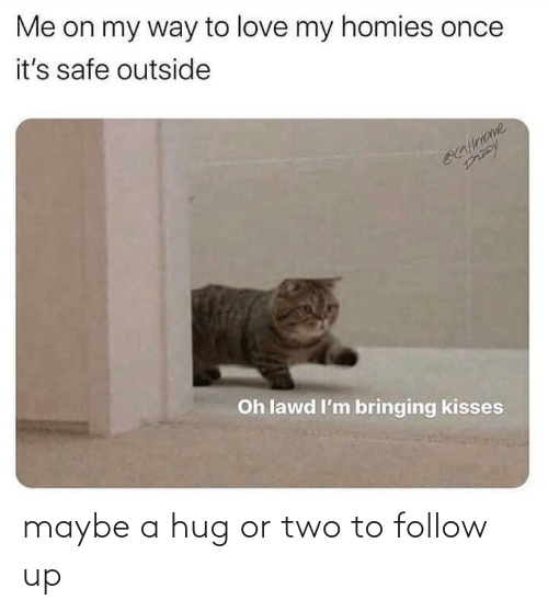 maybe: maybe a hug or two to follow up