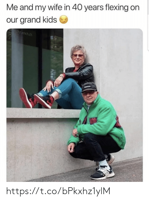 Memes, Kids, and Wife: Me and my wife in 40 years flexing on  our grand kids  zuerich.ch https://t.co/bPkxhz1ylM