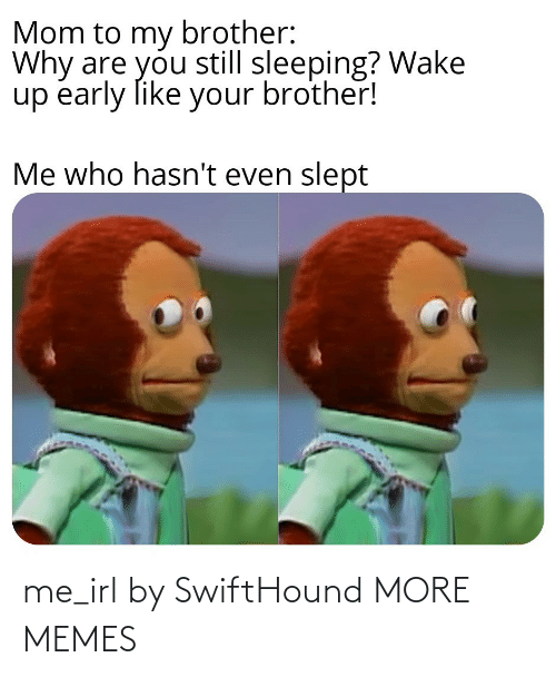 IRL: me_irl by SwiftHound MORE MEMES