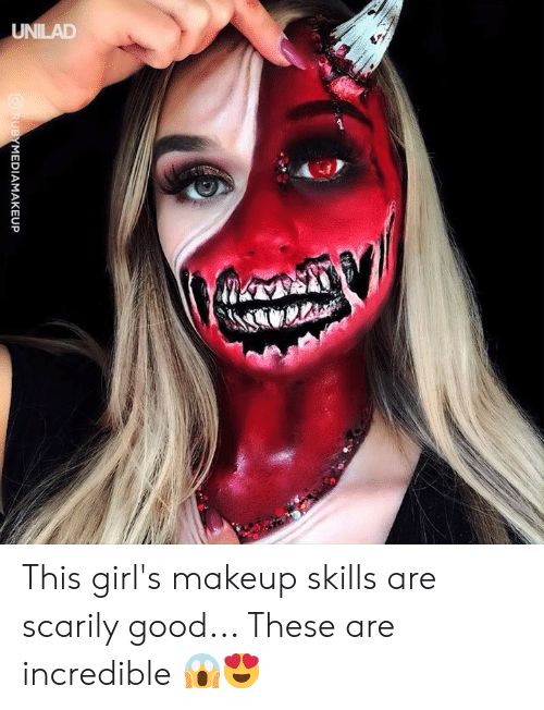 Dank, Girls, and Makeup: MEDIAMAKEUP This girl's makeup skills are scarily good... These are incredible 😱😍