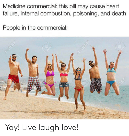 Medicine Commercial This Pill May Cause Heart Failure