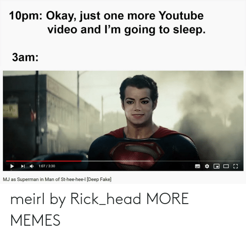 head: meirl by Rick_head MORE MEMES
