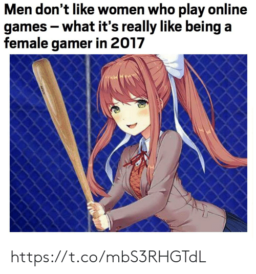 In 2017: Men don't like women who play online  games -what it's really like being a  female gamer in 2017 https://t.co/mbS3RHGTdL