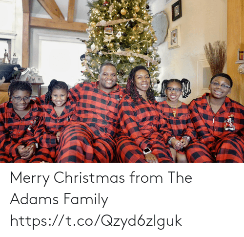 Merry Christmas: Merry Christmas from The Adams Family https://t.co/Qzyd6zlguk