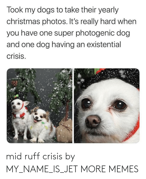 My Name: mid ruff crisis by MY_NAME_IS_JET MORE MEMES