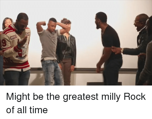 Blackpeopletwitter, Milly Rock, and Time: Might be the greatest milly Rock of all time