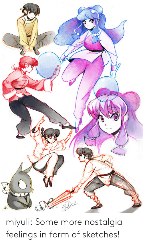 Some More: miyuli:  Some more nostalgia feelings in form of sketches!