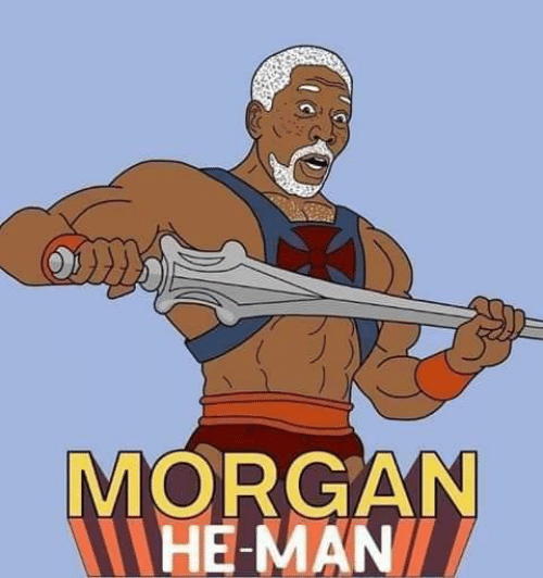 He-Man, Man, and Morgan: MORGAN  HE-MAN