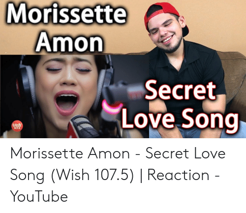 Morissette Amon Secret Love Song Wish 1075 Morissette Amon