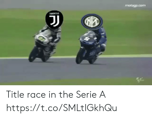 Race: motogp.com  uNENTUS  J Title race in the Serie A  https://t.co/SMLtIGkhQu