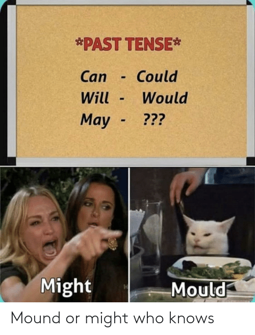 who: Mound or might who knows