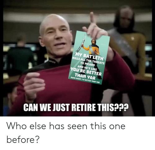 PICARD RIKER 2020 МАКE IT SO | Picard Meme on loveforquotes com