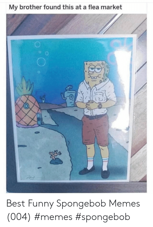 Best Funny: My brother found this at a flea market Best Funny Spongebob Memes (004) #memes #spongebob