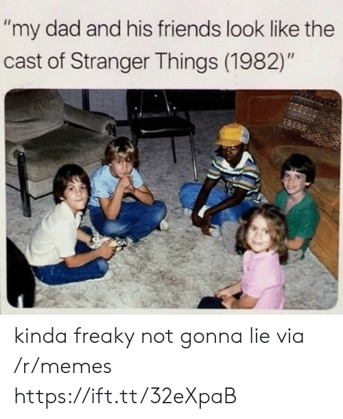 """Dad, Friends, and Memes: """"my dad and his friends look like the  cast of Stranger Things (1982)"""" kinda freaky not gonna lie via /r/memes https://ift.tt/32eXpaB"""