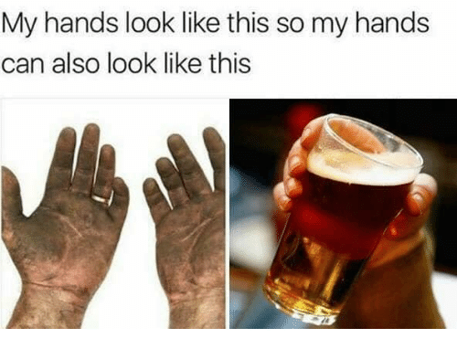 Memes, 🤖, and Can: My hands look like this so my hands  can also look like this