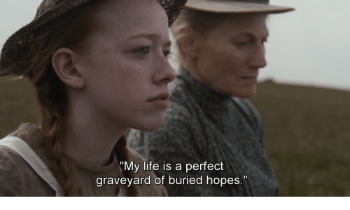 "Life, Buried, and Graveyard: ""My life is a perfect  graveyard of buried hopes."""