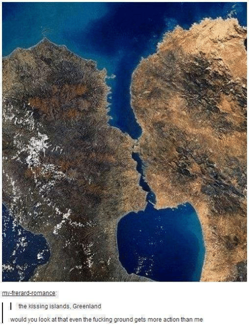 The Kissing Islands