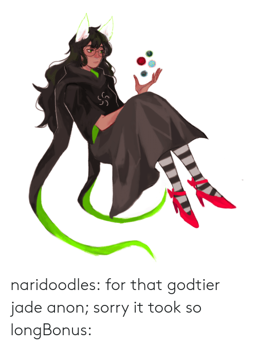 Gif, Sorry, and Target: naridoodles:  for that godtier jade anon; sorry it took so longBonus: