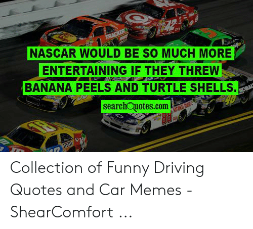 NASCAR WOULD BE SO MUCH MORE ENTERTAINING IF THEY THREW ...