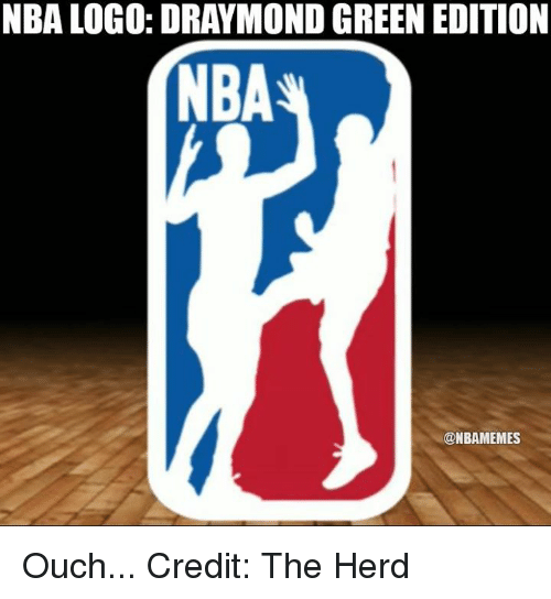 wholesale dealer 3a71a e5d2f Nba, Logo, and Green  NBA LOGO  DRAYMOND GREEN EDITION NBA  NBAMEMES