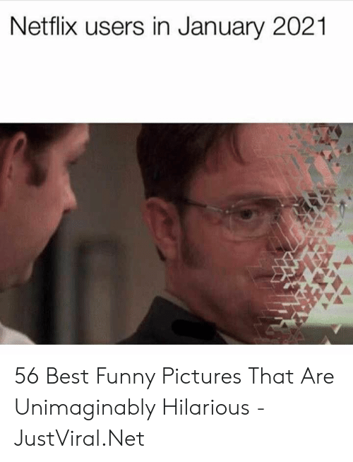 Best Funny: Netflix users in January 2021 56 Best Funny Pictures That Are Unimaginably Hilarious - JustViral.Net