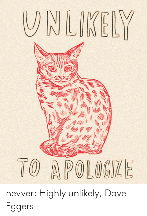 Each: nevver:  Highly unlikely, Dave Eggers