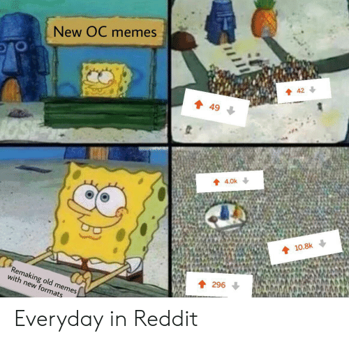 New OC Memes 42 49 40k 108k Remaking Old Memes With New
