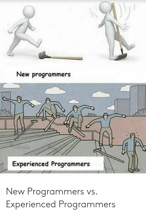 New and Experienced: New programmers  Experienced Programmers New Programmers vs. Experienced Programmers