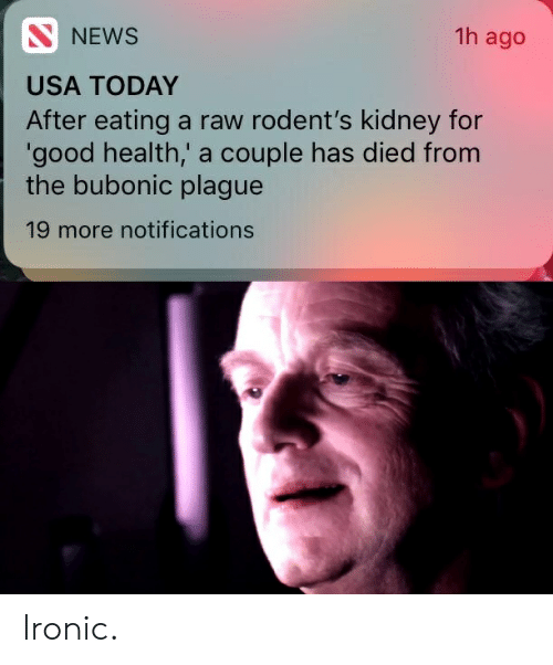 NEWS 1h Ago USA TODAY After Eating a Raw Rodent's Kidney for