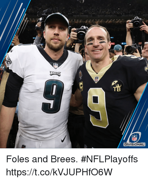 Memes, Nfl, and Nikon: Nikon  NFL  DIVISIONAL Foles and Brees. #NFLPlayoffs https://t.co/kVJUPHfO6W
