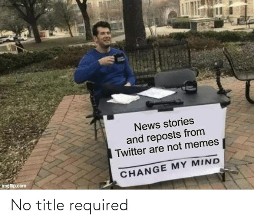 Title: No title required