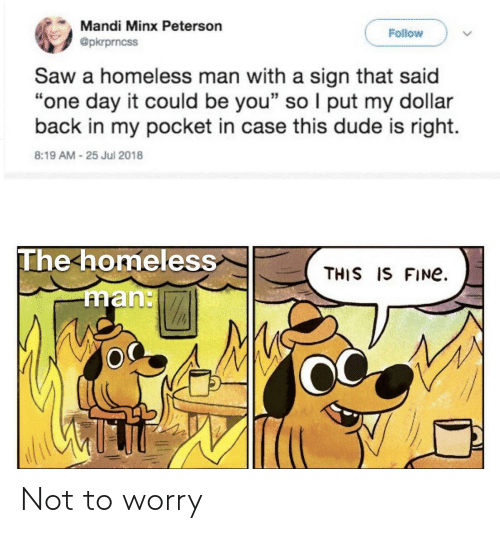 Not: Not to worry
