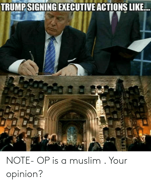 opinion: NOTE- OP is a muslim . Your opinion?