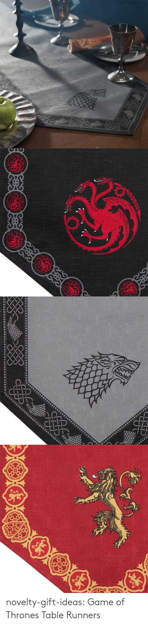 Game of Thrones: novelty-gift-ideas:  Game of Thrones Table Runners