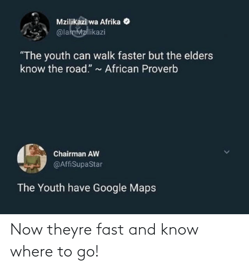 fast: Now theyre fast and know where to go!