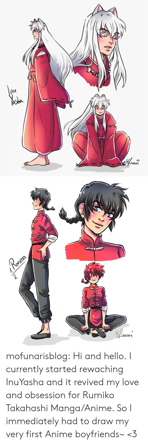 boyfriends: nu   Ronma  Roaur  2  Mlwars  unam mofunarisblog:  Hi and hello.I currently started rewaching InuYasha and it revived my love and obsession for Rumiko Takahashi Manga/Anime. So I immediately had to draw my very first Anime boyfriends~ <3