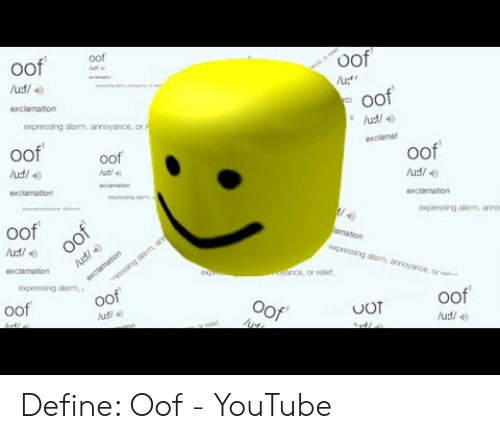 🐣 25+ Best Memes About Oof Meaning Meme | Oof Meaning Memes