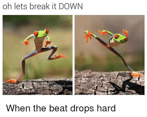 When The Beat Drops