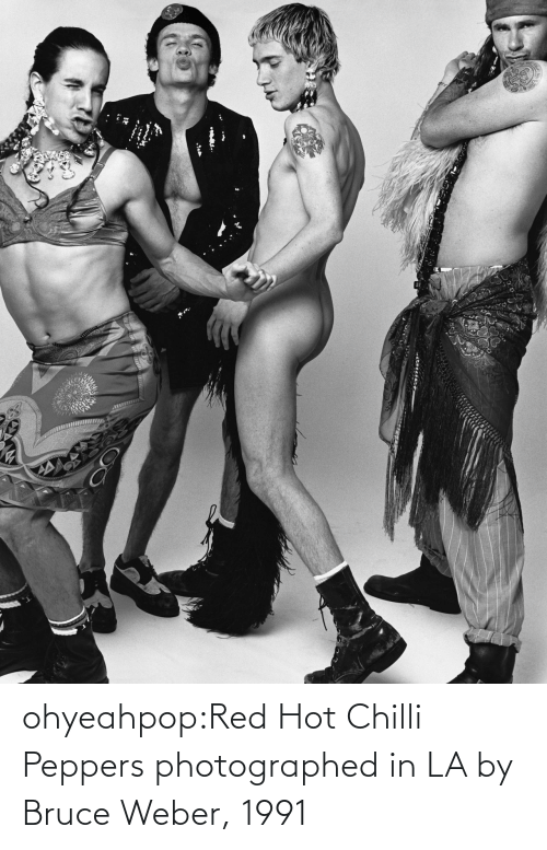 hot: ohyeahpop:Red Hot Chilli Peppers photographed in LA by Bruce Weber, 1991