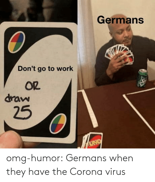 When: omg-humor:  Germans when they have the Corona virus