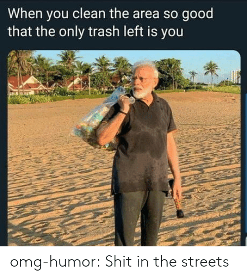 the streets: omg-humor:  Shit in the streets