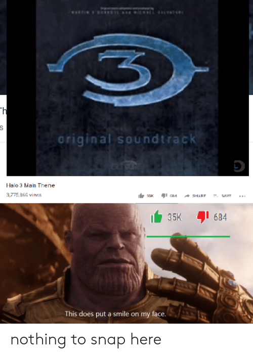 Original Soundtrack Halo 3 Main Thene 35K I 684 This Does Put a