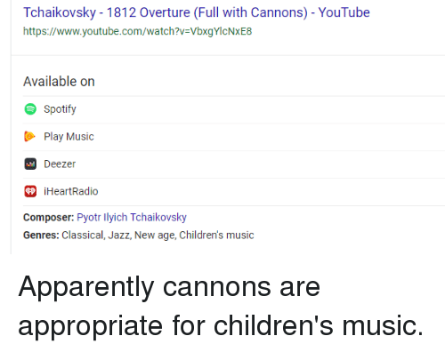 Overture Full With Cannons- YouTube Httpswwwyoutubecomwatch