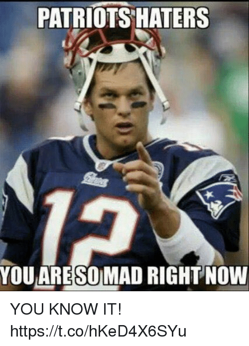 Football, Nfl, and Patriotic: PATRIOTS HATERS  YOU ARESOMAD RIGHT NOW YOU KNOW IT! https://t.co/hKeD4X6SYu